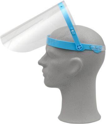 arcvédő pajzs