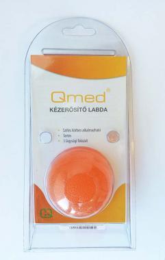 qmed kézerősítő narancs labda
